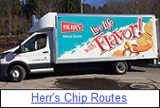 Herr's Chips Routes for Sale