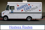 Hostess Cakes Routes for Sale