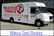 Matco Tools Routes for Sale