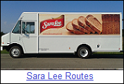 Sara Lee Routes for Sale