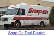Snap On Tools Routes for Sale