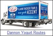 Dannon Yogurt Routes for Sale